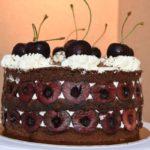 foret noire chocolat cerise