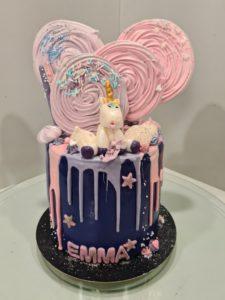 Molly cake, chocolat, framboises